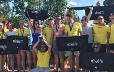 """Nuoto, gli Anzianotti conquistano ancora il Trofeo """"Donato Paradiso"""""""