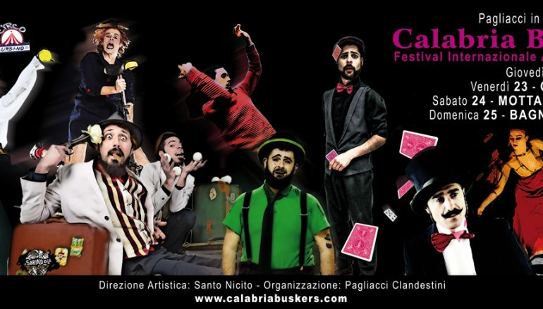 Calabria BusKers, al via il Festival Internazionale di Teatro di Strada