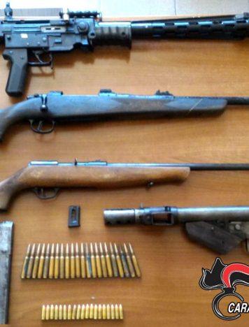 Reggio Calabria, due arresti per detenzione di armi e di munizionamento