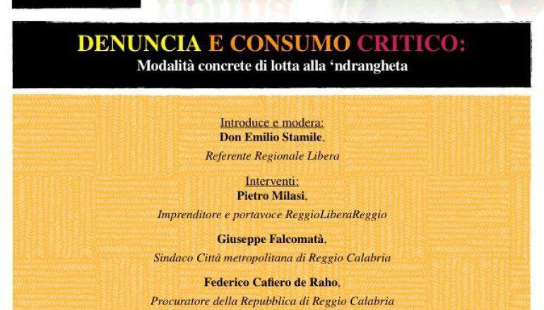 """Riparte la campagna antiracket di """"Libera Reggio Calabria"""""""