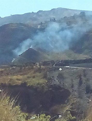 Lazzaro, a rischio salute pubblica per ennesimo vasto incendio