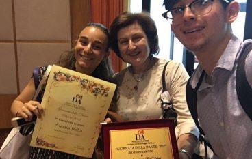 """La Società """"Dante Alighieri"""" premia il Liceo """"Pizi"""" di Palmi"""