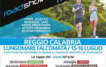 Road Show Runcard, Reggio si prepara ad un weekend di benessere