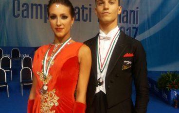 Calabria, Diodati e Donato vincono medaglia Youth AS di danze standard