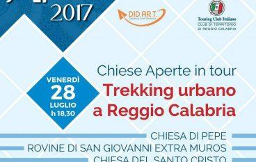 Chiese Aperte in tour: trekking urbano a Reggio Calabria