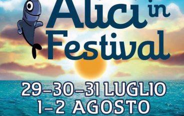 """Cosenza, al via settima edizione """"Fuscaldo: Alici in Festival"""""""