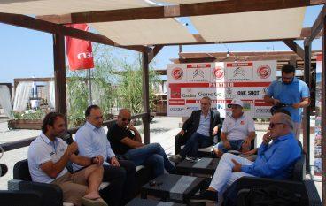 Kitesurf Europeo a Gizzeria, ospite il Ministro per lo Sport Luca Lotti