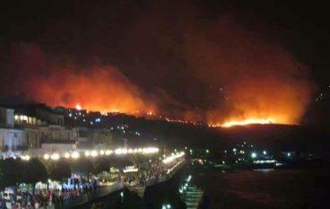 Calabria, oltre 500 incendi in regione
