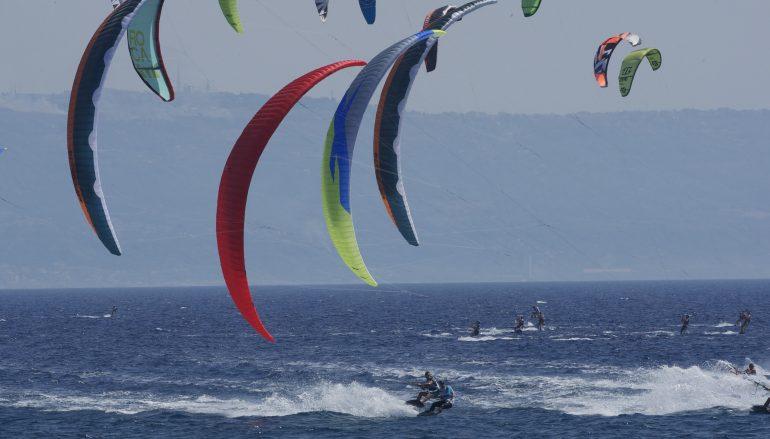 Kitesurf europeo a Gizzeria: leadership per Bridge e Newland