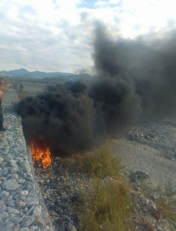 Rossano, uomo dà fuoco ai rifiuti: arrestato