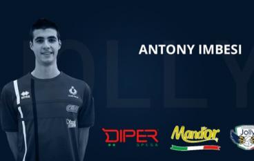 "Pallavolo, Jolly Cinquefrondi: ""Dal Club Italia arriva Antony Imbesi"""