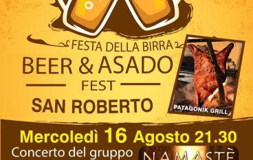 A San Roberto la Festa della birra e dell'asado