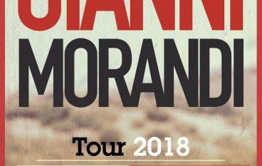 Morandi in concerto a Reggio Calabria: al via le prevendite ufficiali