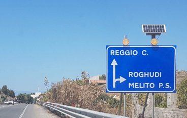 Nuova segnaletica sulla 106, plauso dell'amministrazione di Roghudi all'Anas