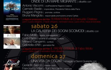 A Scilla il cinema d'autore con il Premio Oscar Gianni Quaranta
