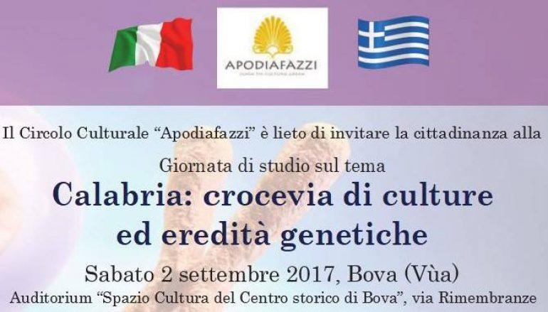 Culture ed eredità genetiche: giornata di studio a Bova