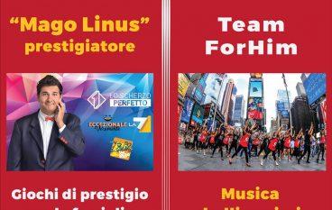 Lo spettacolo del Mago Linus e del Team ForHim a Melito Porto Salvo