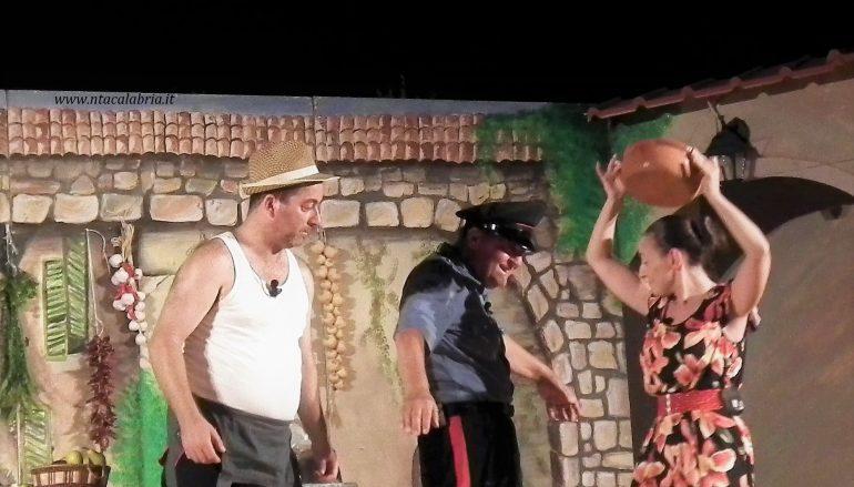 Il grande Pippo Mafrici rivive sul palco di Condofuri Marina