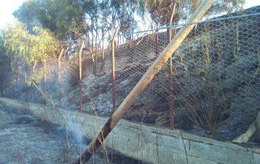 """Incendio a Saline, Crea: """"Un altro disastro ambientale"""""""