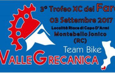 """A Riace Capo il Terzo Trofeo """"XC del Faro"""": Cross Country di MTB"""