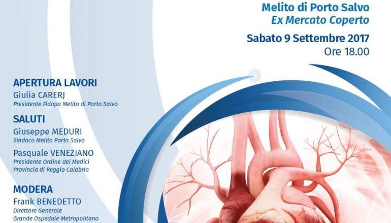 """Melito Porto Salvo, incontro su """"Prevenzione cardiovascolare"""""""