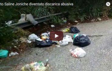 Saline Joniche rifiuti nell'area del Porto