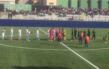 Palmese-Gela 3-3, partita emozionante
