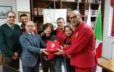 Ente Parco Aspromonte ha donato un Defibrillatore
