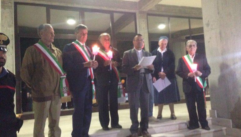 San Lorenzo Marina Fiaccolata della Pace – Il video