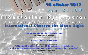 Planetario Reggio Calabria, Notte della Luna