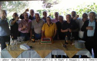 Rimpatriata a Reggio Calabria a 50 anni dal diploma