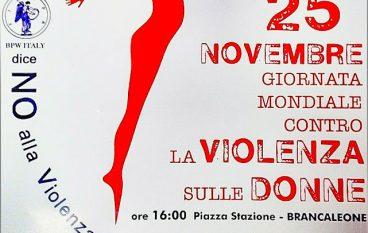Violenza delle donne Brancaleone, manifestazione