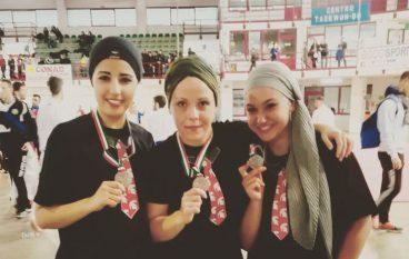 Karate Melitese, vice campionesse italiane a squadre Kata