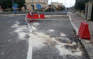 Incidente Rotatoria Lazzaro, nessun ferito