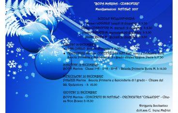 Natale Istituto Bova Marina – Condofuri, programma