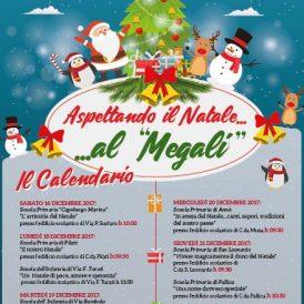 Natale Istituto Megali Melito Roccaforte, programma