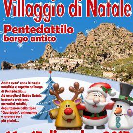Pentedattilo Villaggio di Natale 2017