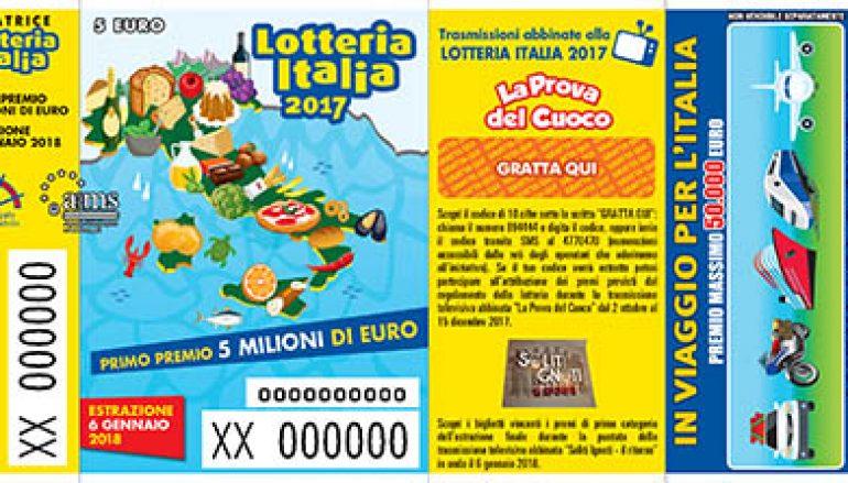 Lotteria Italia, vendite in aumento in Calabria