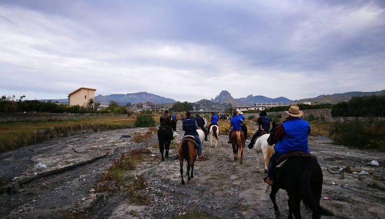 Raduno Equestre Melito Porto Salvo, grande successo