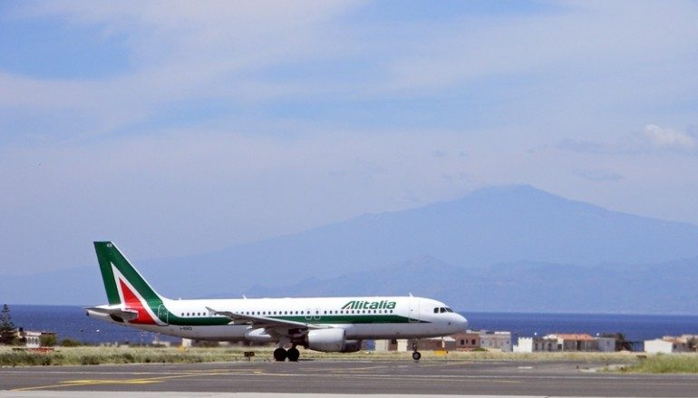 Alitalia Reggio Calabria, confermati i voli 2018