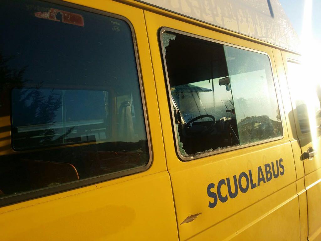 Crosia furto scuolabus