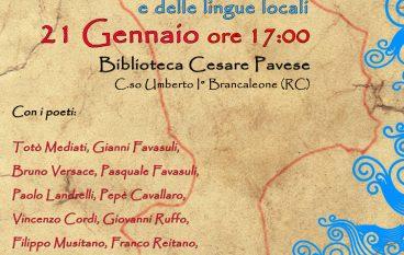 Giornata Nazionale Dialetto e lingue locali a Brancaleone