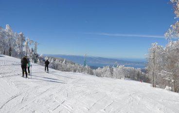 La stagione sciistica Gambarie é stata aperta