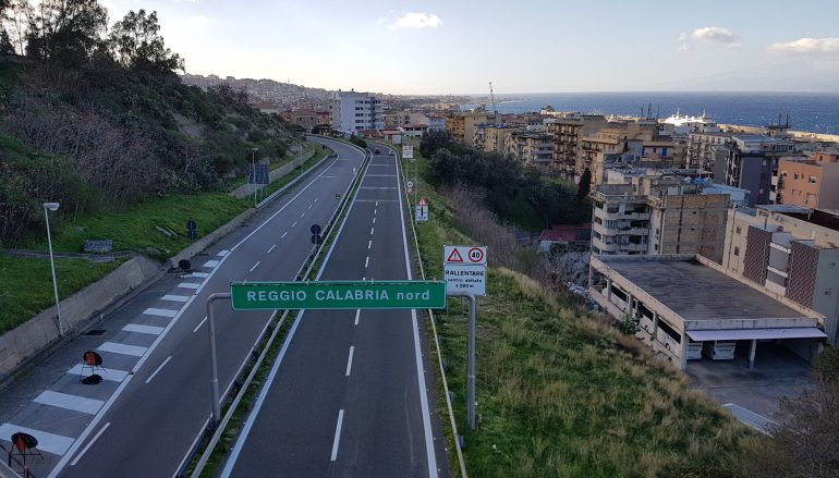 Tangenziale Reggio Calabria, consegnati lavori di manutenzione
