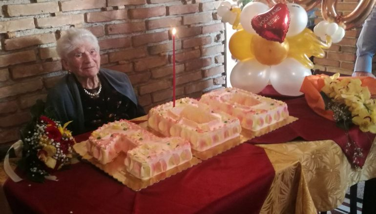 Reggio Calabria centenaria, festa per Caterina Mate