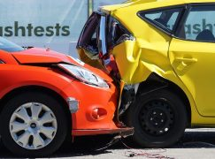 Sicurezza alla guida: crash test insufficiente, importante la protezione del web