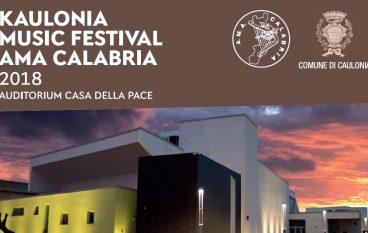 Kaulonia Music Festival 2018: il programma