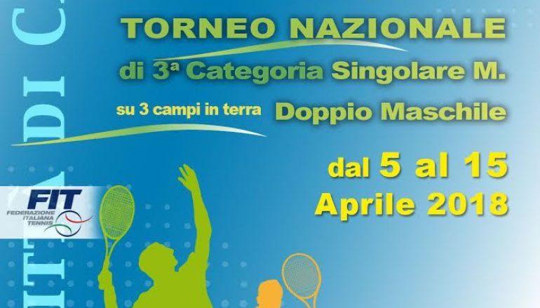 Memorial Alfonso Ciprioti, ritorna il torneo nazionale di tennis