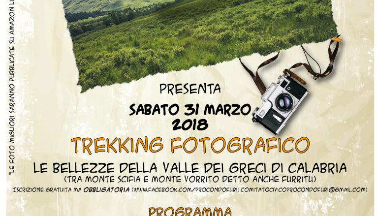 Trekking fotografico Amendolea: il programma