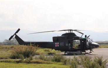 Addestramento Esercito Crotone, in volo sui cieli della Calabria